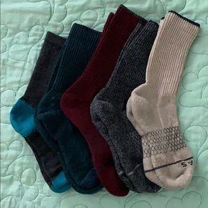 Women's Merino Wool Calf BOMBAS socks